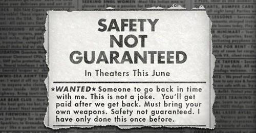 safety not guaranteed big beach